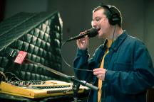 Alexis Taylor of Hot Chip in The Current studio