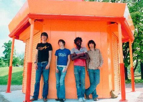 British indie quartet Bloc Party.