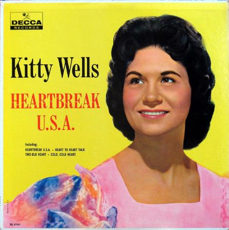 Album art for Kitty Wells's Heartbreak USA