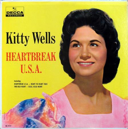 Album art for Kitty Wells's Heartbreak USA