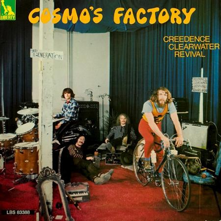 Album art for Creedence Clearwater Revival's Cosmo's Factory