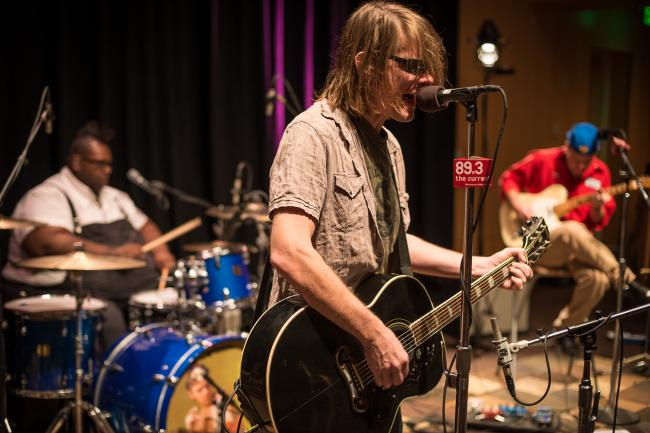 Soul Asylum performs in the UBS Forum