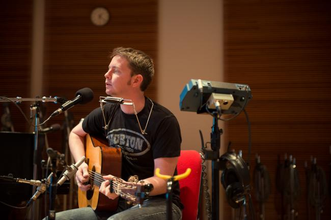 John Fullbright performs in The Current studio