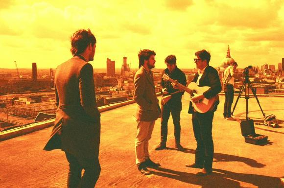 Folk-rock band Mumford and Sons.