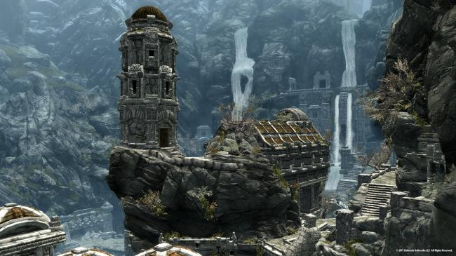 City of Markarth in Skyrim (Bethesda Softworks LLC)