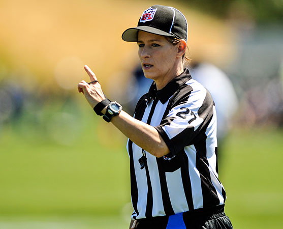 nfl scores week 9 nfl female referee