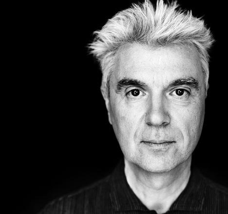 Author and former Talking Heads frontman David Byrne.