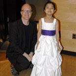 Elizabeth Aoki, 9 year old violinist at Aspen