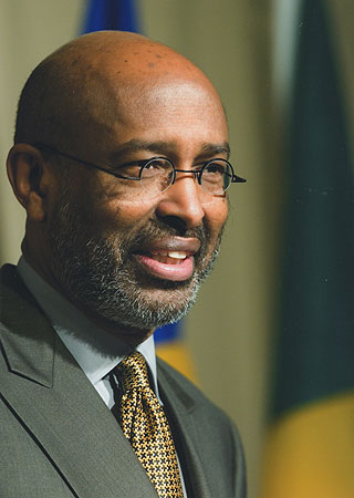 Ahmed Samatar is a professor of international studies at Macalester College. Samatar took a sabbatical from teaching to run for the president of Somalia this year.