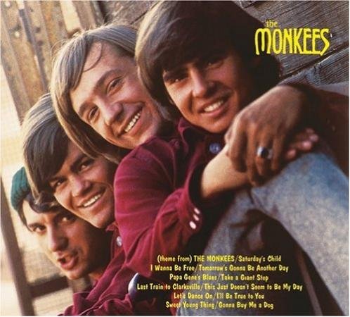 Album art for The Monkees' self-titled album