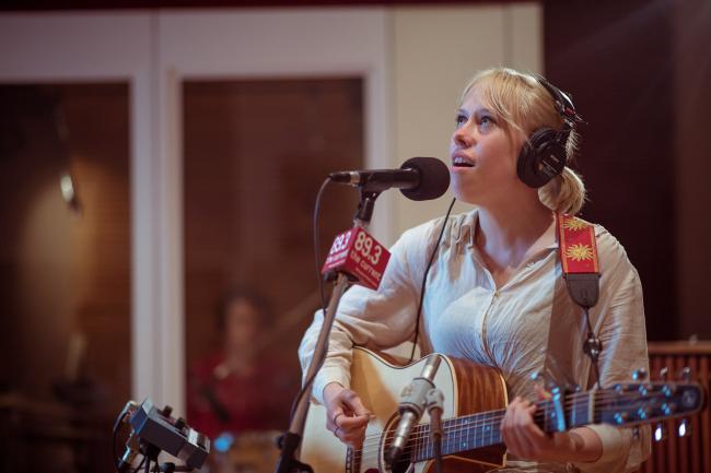 Bomba De Luz performs in The Current studios