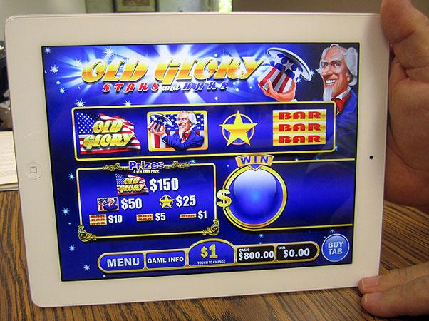 green sts slot machine