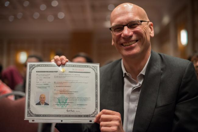 89.3 The Current DJ Mark Wheat becomes a naturalized American citizen