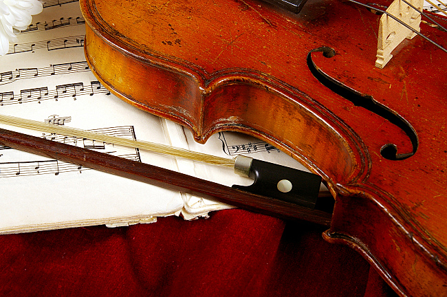 Violin and Music