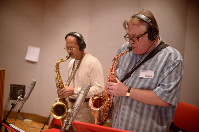 The Valdons perform in The Current studios