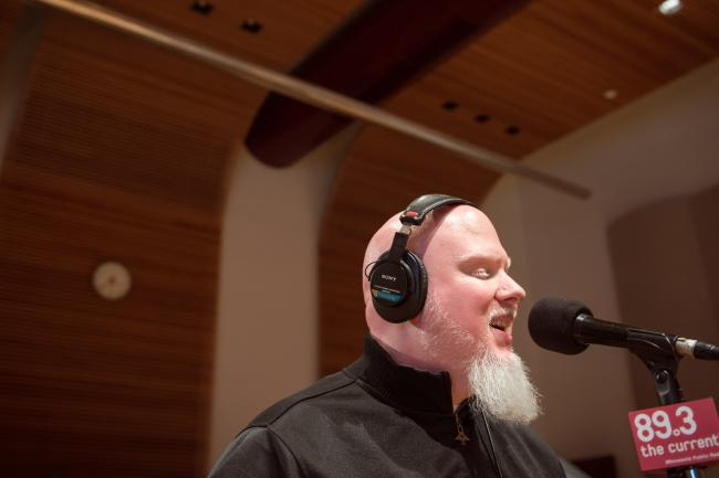 Brother Ali performs in The Current studio.