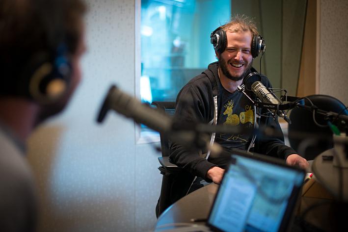 Bon Iver's Justin Vernon at Minnesota Public Radio