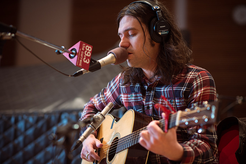 Conor Oberst performs in the studios of 89.3 The Current