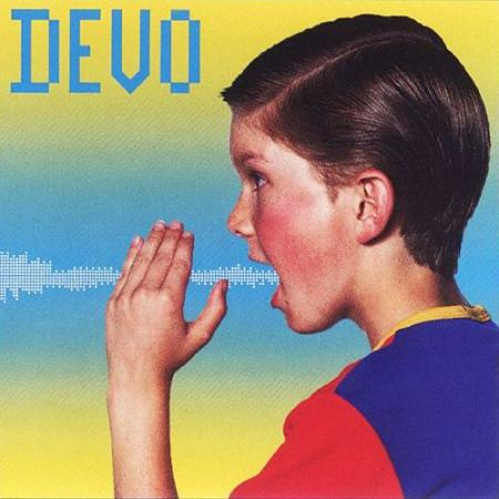 "Album art for Devo's ""Shout"""