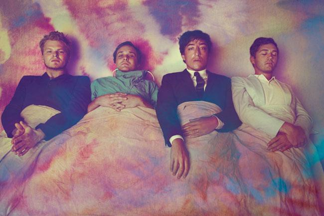 Brooklyn-based indie folk-rock quartet Grizzly Bear.