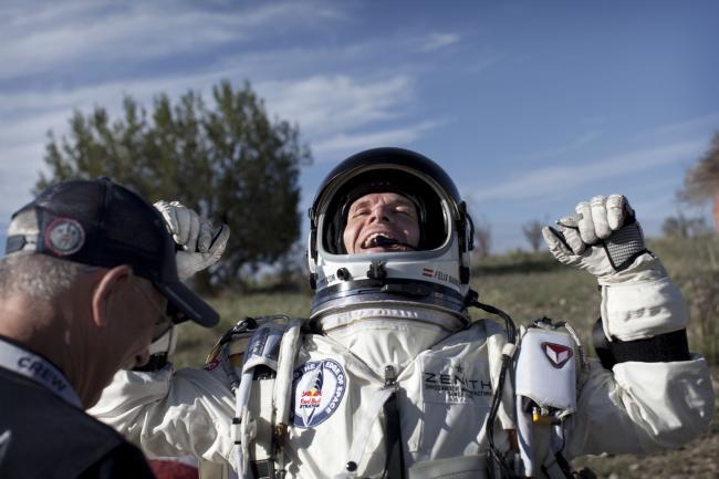 Skydiver eyes record-breaking