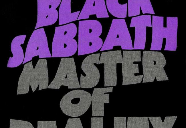 "Album art for Black Sabbath's ""Master of Reality"""