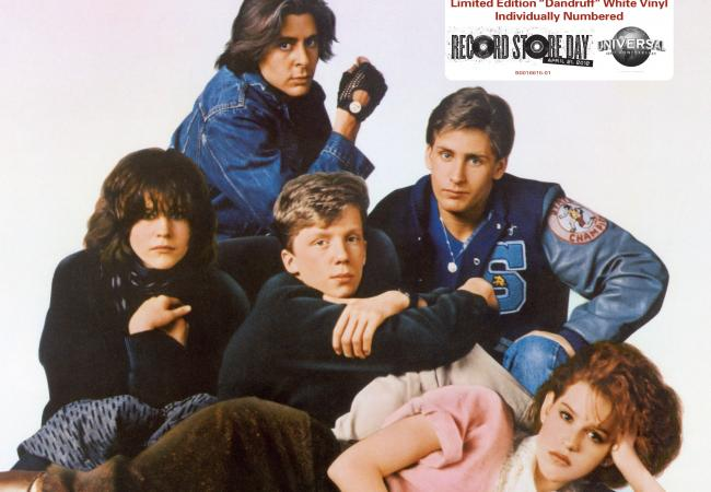 Album art for The Breakfast Club soundtrack