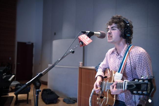 Guitarist/singer John Pelant of Night Moves.