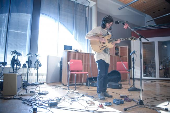Guitarist/multi-instrumentalist Mark Ritsema of Night Moves.