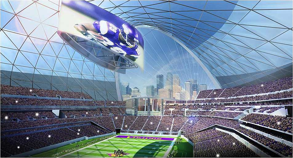 Bidding For Vikings Stadium Expected To Be Competitive