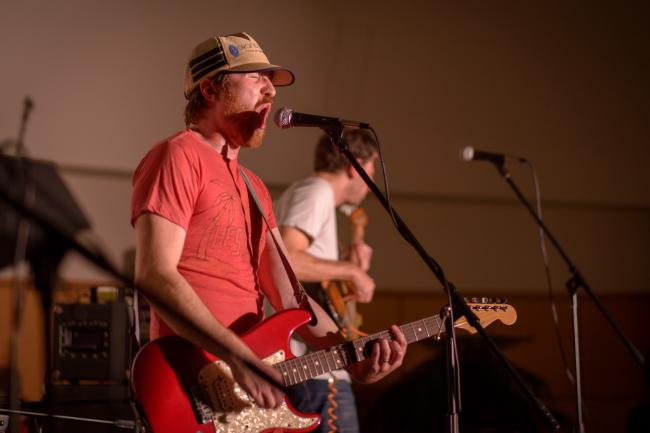 Tapes 'n Tapes performs in Fergus Falls for Caravan Du Nord