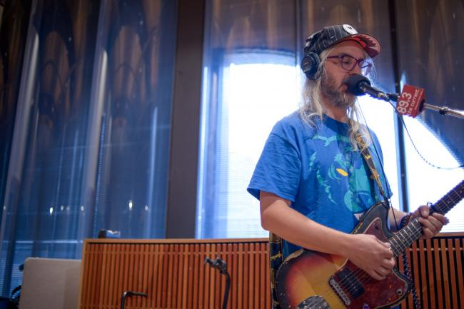 Dinosaur Jr. performs inside the 89.3 The Current studio