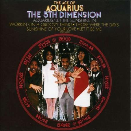 """Album art for The 5th Dimension's """"Age of Aquarius"""""""