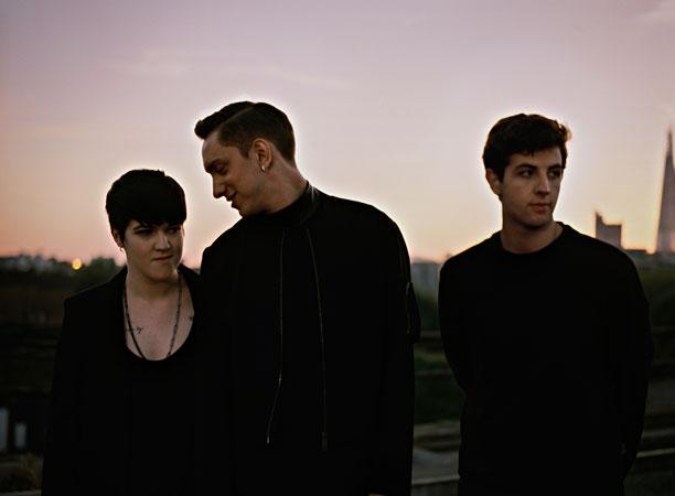 Inventive indie-pop trio the xx.