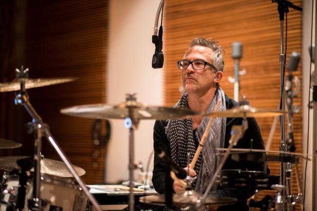 Public Image Ltd drummer Bruce Smith.