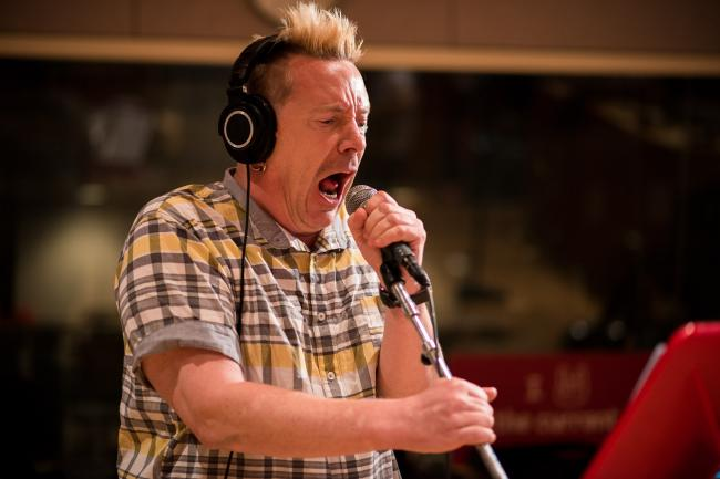 John Lydon of post-punk veterans Public Image Ltd.