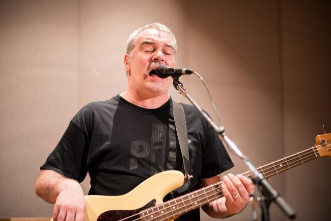 Public Image Ltd bassist Scott Firth.