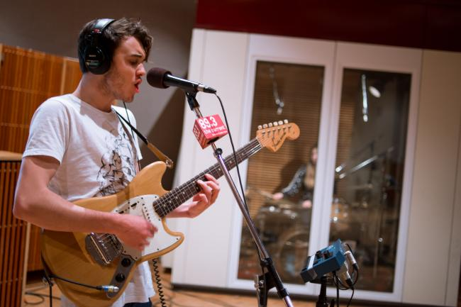 Australian indie-pop upstarts San Cisco in The Current studio.