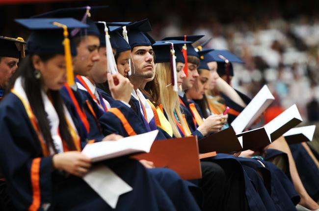 2012 Syracuse University Commencement