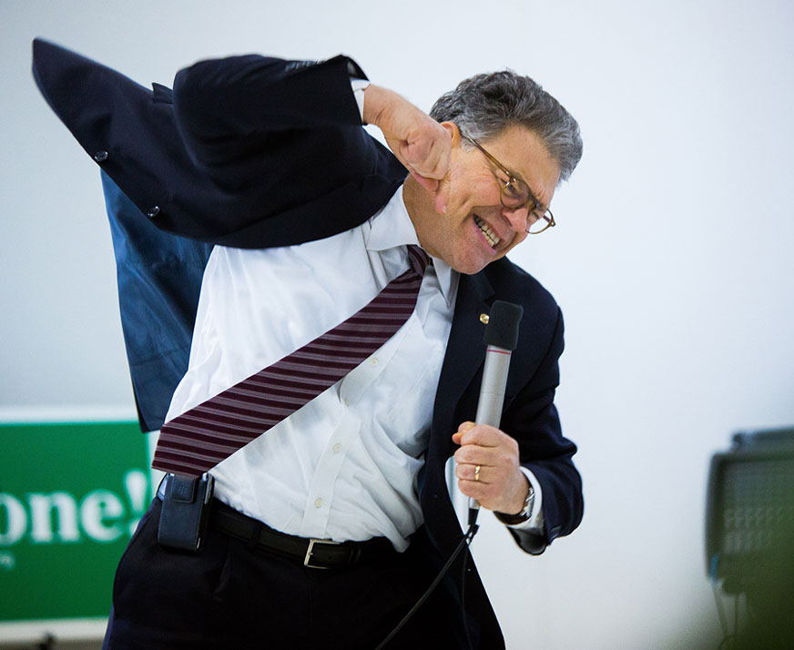 Franken impersonates Wellstone