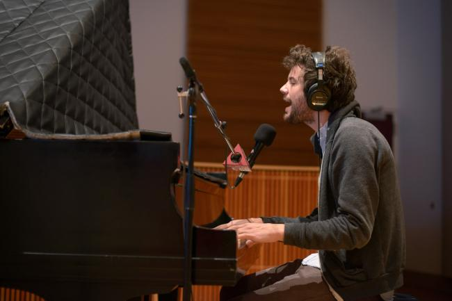 Singer, songwriter and multi-instrumentalist Michael Angelakos of Passion Pit.