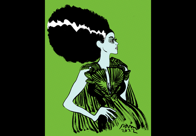 Waxman: Bride of Frankenstein (Courtesy of Sam Hiti)