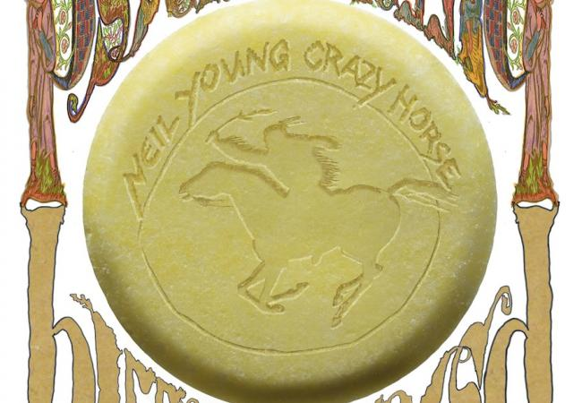 """Album art for Neil Young & Crazy Horse's """"Psychedelic Pill"""""""