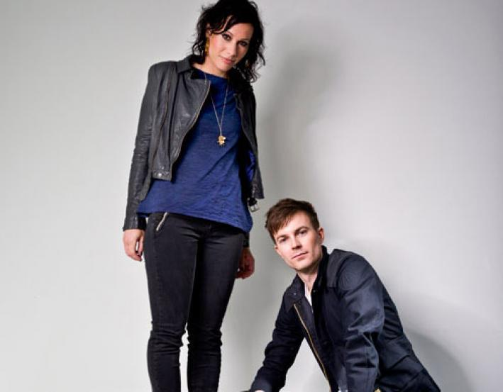 Indie dance-pop duo Matt & Kim.