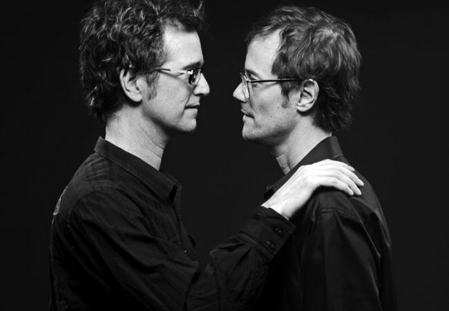Musical brothers Dan and Matt Wilson.