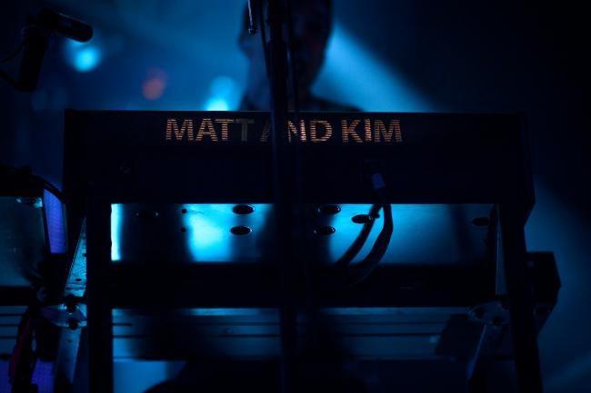 Matt and Kim's Keyboard