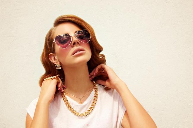 American singer-songwriter Lana Del Rey
