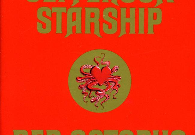 "Album art for Jefferson Starship's ""Red Octopus"""
