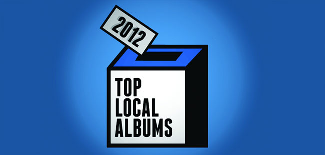 We're counting down the top 20 local albums of the year on the December 30th episode of The Local Show.
