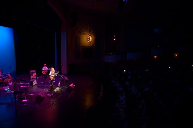 Caroline Smith and The Good Night Sleeps performs for Caravan Du Nord at St. Cloud's Paramount Theatre.